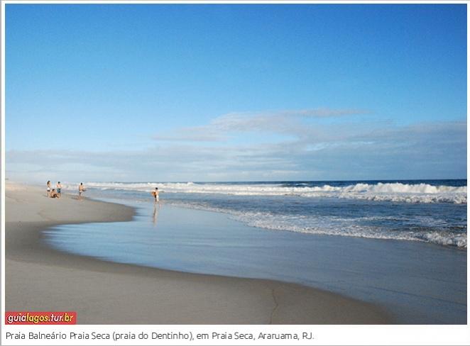 Praia do Balneário Praia Seca ou Praia do Dentinho