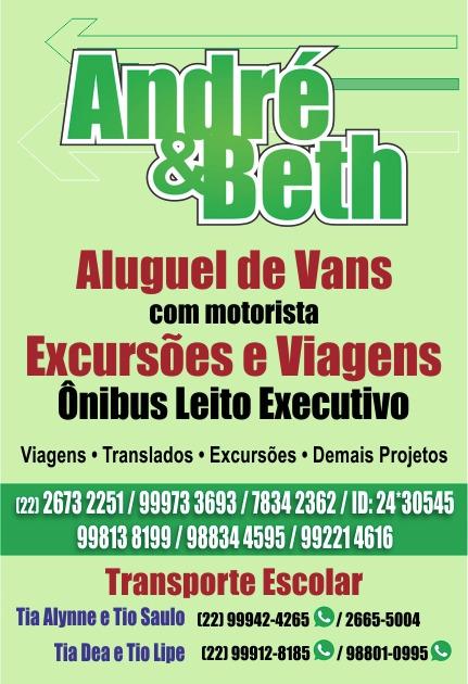 Andre & Beth Aluguel de Vans