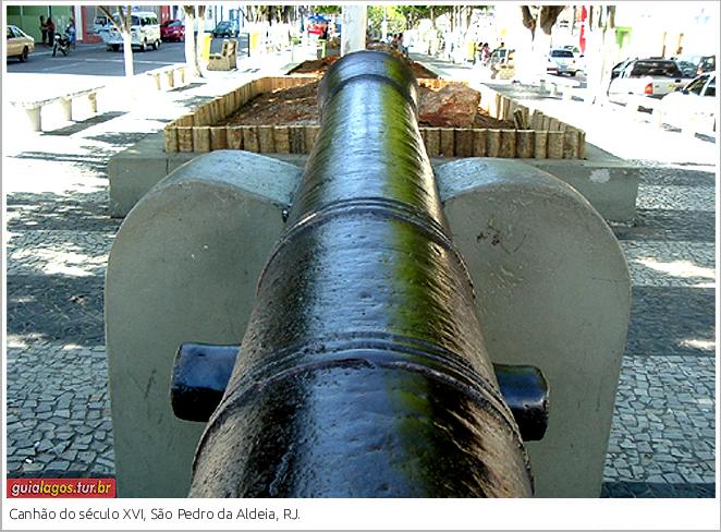 Canhão do Século XVI
