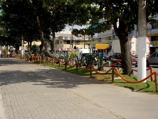 Calçadão de Iguaba