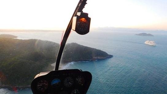 Passeio de Helicoptero