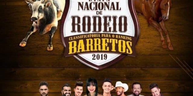 Última Etapa Nacional Classificatória para o Rodeio de Barretos