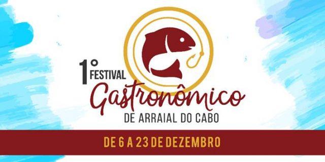 1° Festival Gastronômico de Arraial de Cabo