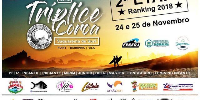 2ª Etapa Circuito Tríplice Coroa Saquarema de Surf