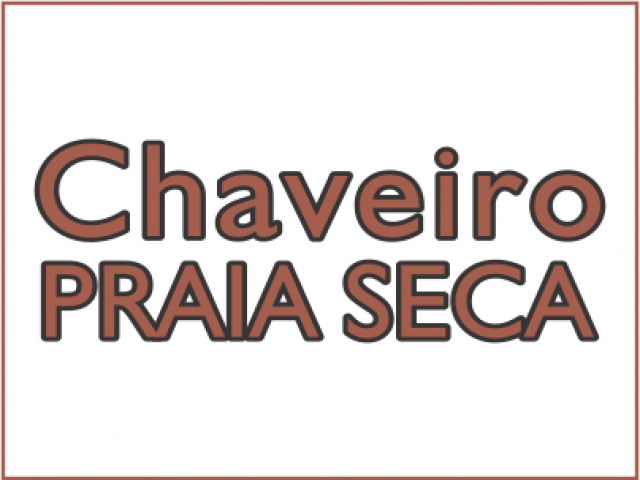 Chaveiro Praia Seca
