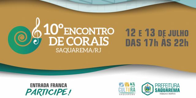 10° Encontro de Corais de Saquarema