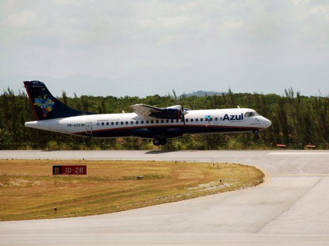Azul começa a voar cinco vezes na semana para Cabo Frio; operação vai até 2022