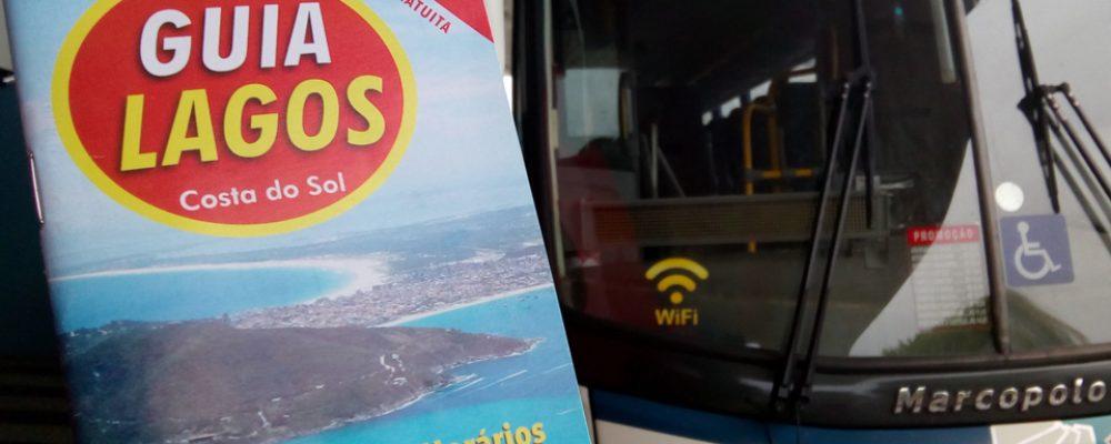 Guia Lagos lança horários de ônibus de 8 empresas e 162 linhas internas e externas da Região dos Lagos.